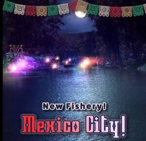 Gra na Ryby - mexico City
